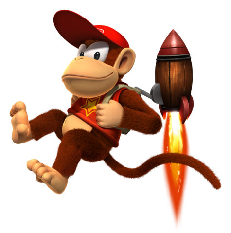 File:Diddy Kong DKCR.PNG