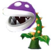 Purple Prickly Piranha Plant
