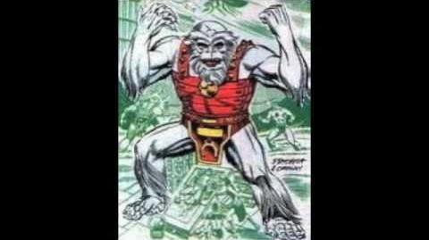 Supervillians Origins Ultra-Humanite