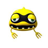 480px-Yellow Virus Artwork - Dr Luigi