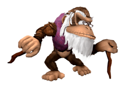 Cranky kong transparent by mach 7-d9kz2yi