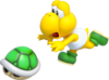 Koopa Troopa Artwork - Super Mario 3D World