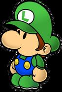 Paper Baby Luigi