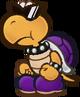 Purple Koopa troopa