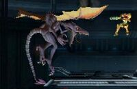 Smash Bros Brawl Ridley and Samus