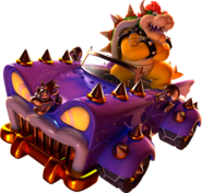 Bowser Artwork - Super Mario 3D World
