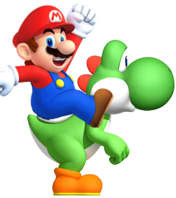 File:Mario on YoshiNSMBAS.png
