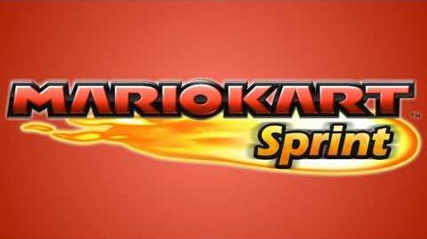 Options Menu - Mario Kart Sprint