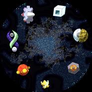 The Cosmic Ocean Map