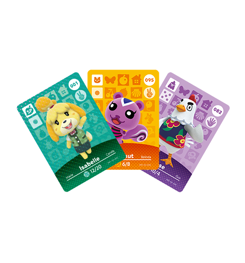 Amiibo animal crossing cards fantendo nintendo fanon - Happy home designer amiibo figures ...