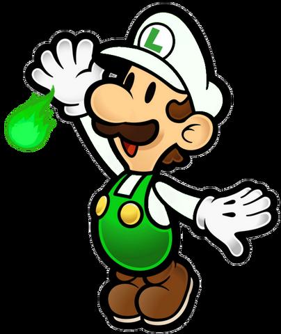 File:Paper Fire Luigi.png
