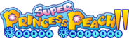 Super Princess Peach II Logo