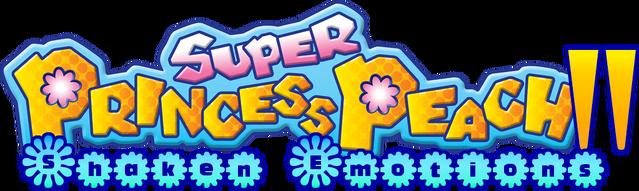 File:Super Princess Peach II Logo.png