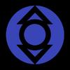 Indigo lantern corps symbol fill by mr droy-d613guh