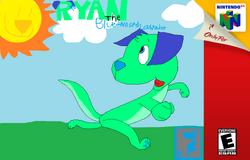 Ryan the Blue-Nosed Labrador box art