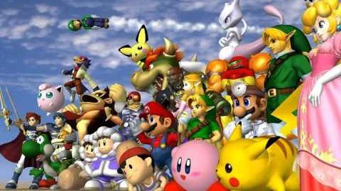 Super Smash Bros Melee - Battlefield 2