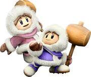 Smash Bros Ice Climbers