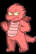 Loser dragon by katedoggo-da0i9y8