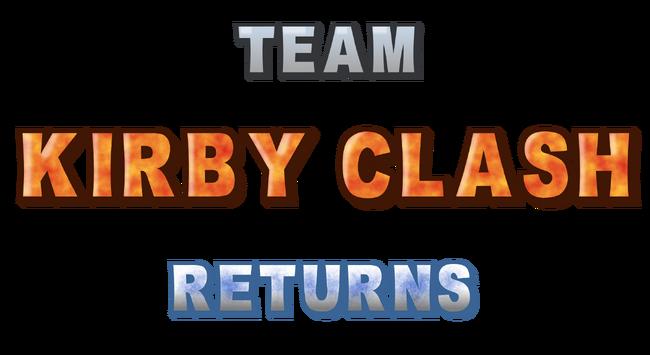 Team Kirby Clash Returns Logo