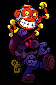 Dark Mini Mario Tipping Stars