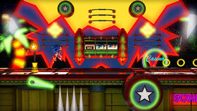 Sonic casino night zone