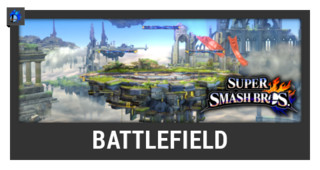 ACL -- Super Smash Bros. Switch stage box - Battlefield