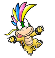 NSMBW Lemmy koopa by nintendrawer