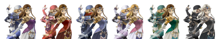 Zelda and Sheik