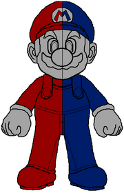 Magnetic Mario Concept Artwork