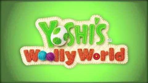 Yarn Yoshi Takes Shape (Yoshi's Woolly World)