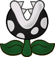 Inky Piranha Plant PMTMF