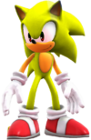 Sonic the hedgehog WII U super