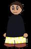 Pants Yellow Zig-Zag Generic