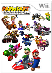 File:Mario Kart Double Dash!! 3 Cover Art.png