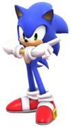 Sonic Adventure pose(Super Smash Bros. Wii U)