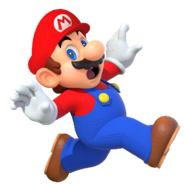Mario artwork (Mario Party 10) - with hat