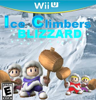 Ice Climbers Blizzard