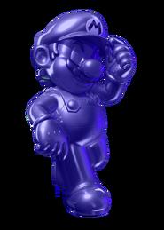 Violet Metal Mario