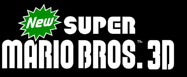 File:New Super Mario Bros. 3D Logo.png