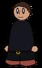 Pants Dark Grey Belted Generic