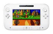 Sonic CD U played in Wii U controller