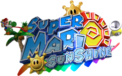 File:Super Mario Sunshine 2 Logo.png