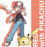 Trainer-Red-Pokemon