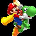 Cape Mario and Yoshi SMW3D