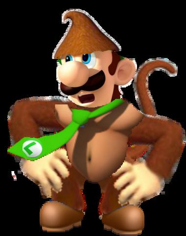 File:Monkey Luigi.png