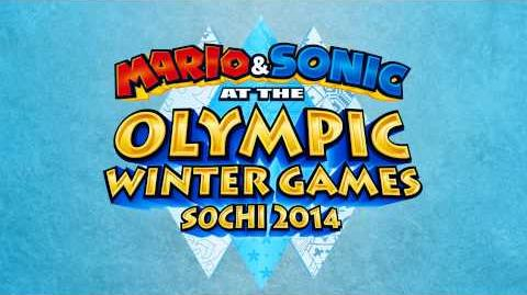 Super Sonic Racing (Mario & Sonic at the Sochi 2014 Olympic Winter Games)