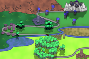 Wisps of the Forest Map