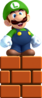 Small Luigi Artwork - New Super Luigi U