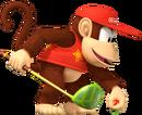Diddy Kong Artwork - Mario Golf World Tour