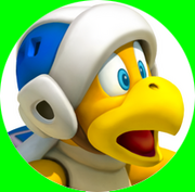 BoomerangBro Artwork (Super Mario 3D Land)